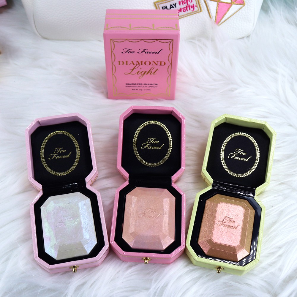 Too Faced Pretty Rich Diamond Light Highlighters
