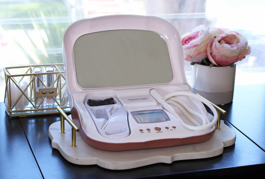 Trophy Skin MicrodermMD at home microdermabrasion machine review