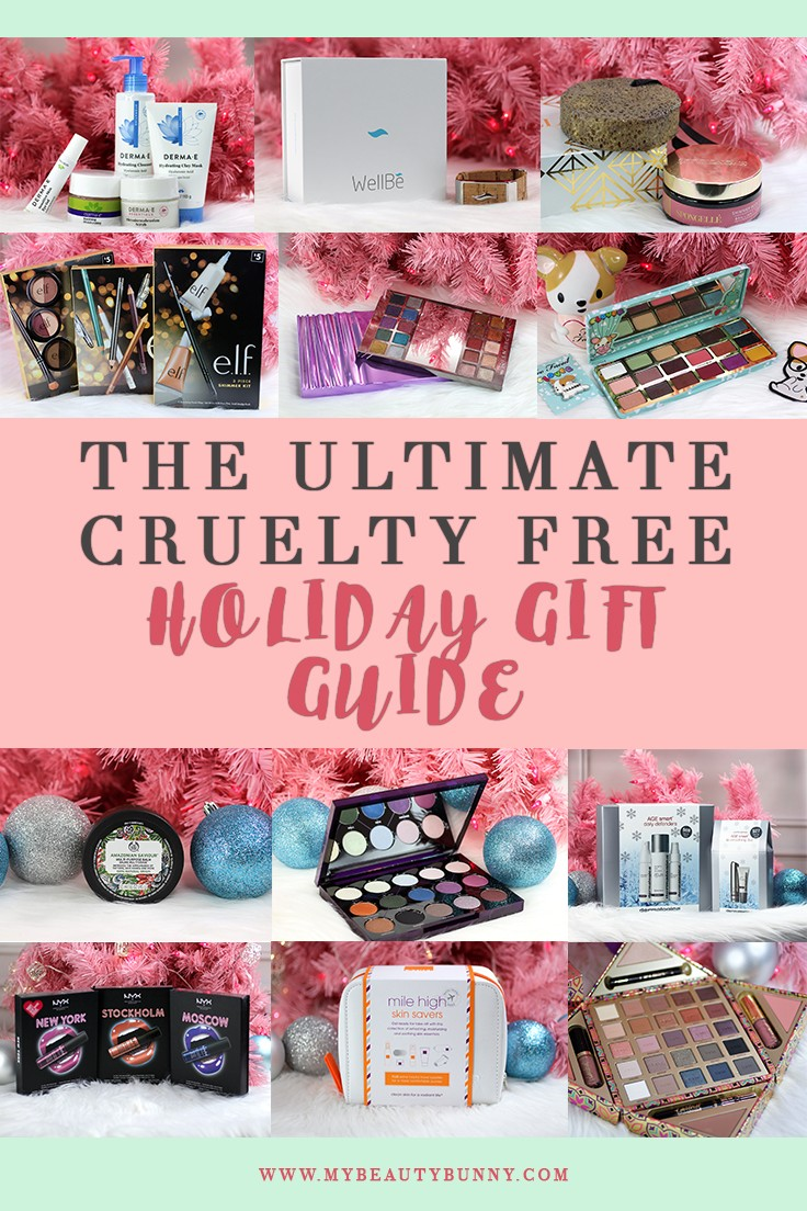 Ultimate Cruelty Free Holiday Gift Guide