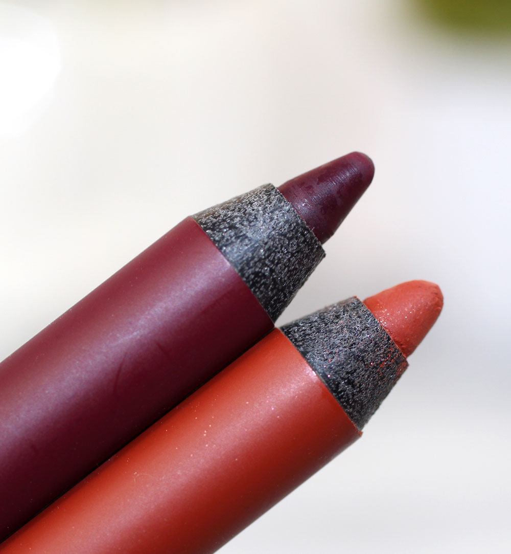 Urban Decay Alkaline and Torch Eyeliner Pencils
