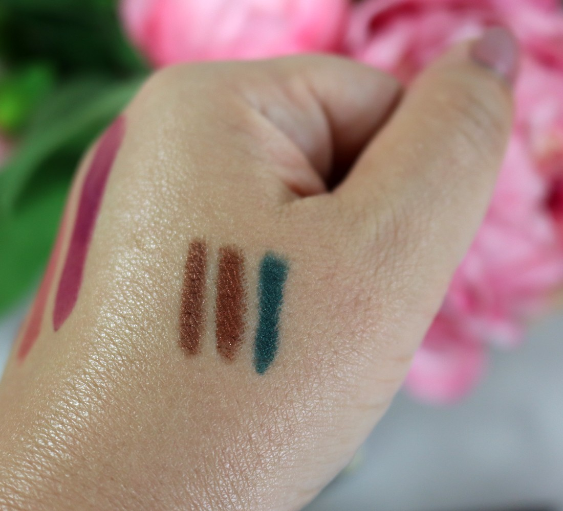 Urban Decay Born to Run Eyeliner Swatches