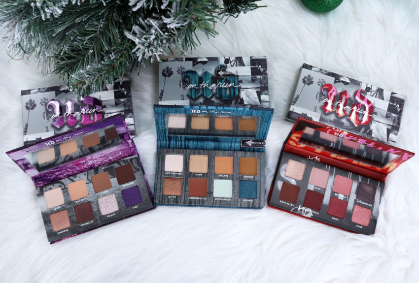 Urban Decay Born to Run Eyeshadow Palettes Review