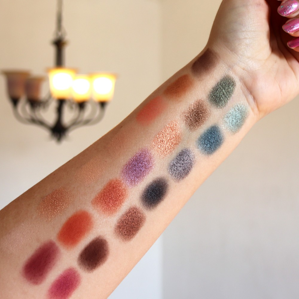 Urban Decay Born to Run Collection Swatches and Review featured by popular Los Angeles cruelty free beauty blogger My Beauty Bunny