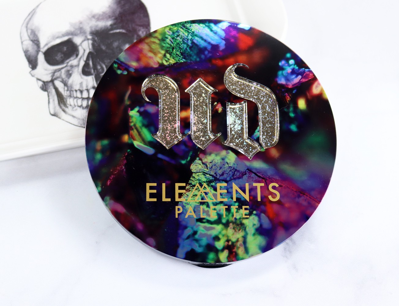 Urban Decay Elements Palette Review and Swatches featured by popular Los Angeles cruelty free beauty blogger My Beauty Bunny