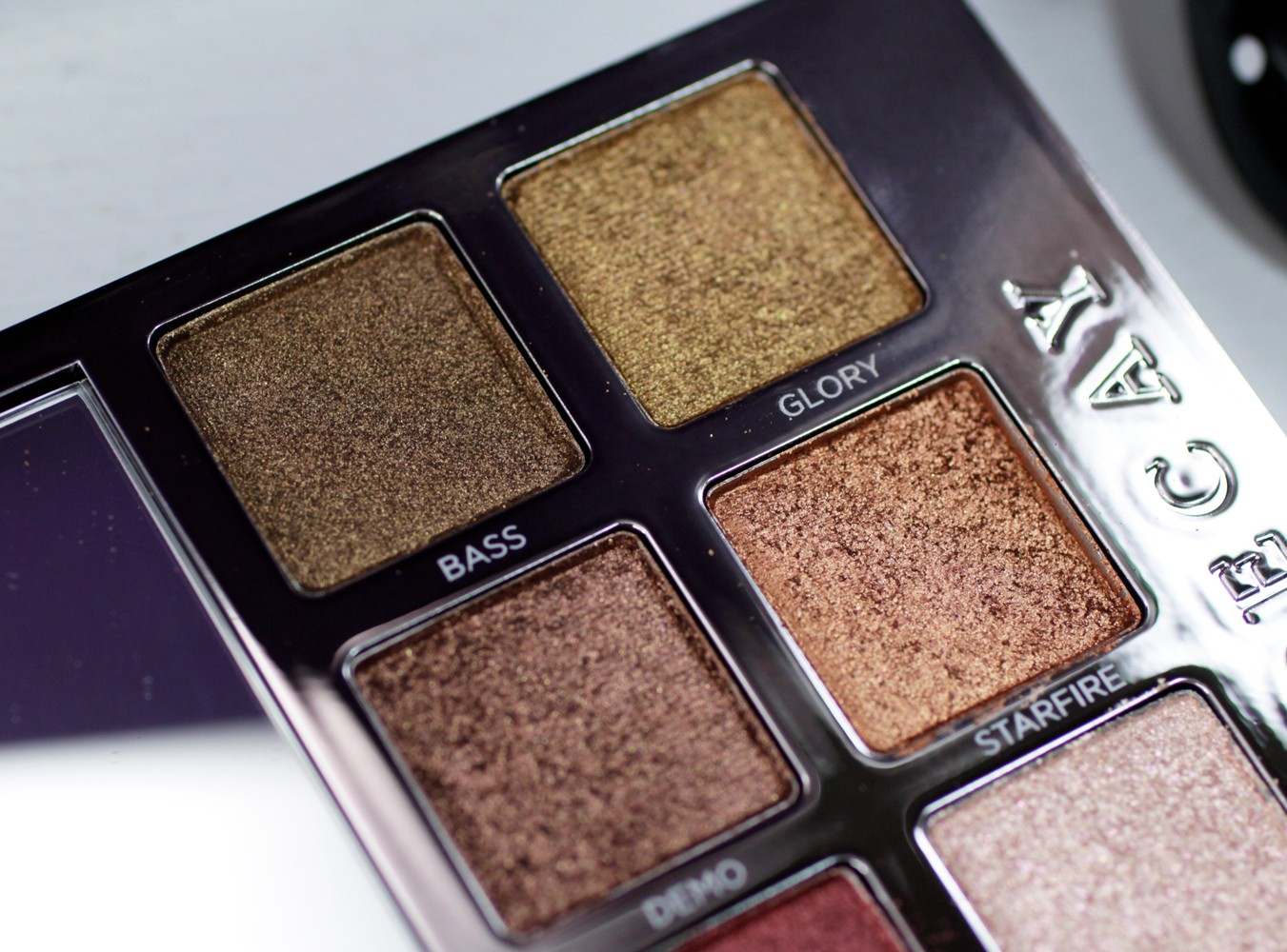 Urban Decay Heavy Metals Eyeshadow Palette - Bass and Glory - Urban Decay Heavy Metals Eyeshadow Palette review by popular Los Angeles cruelty free beauty blogger My Beauty Bunny