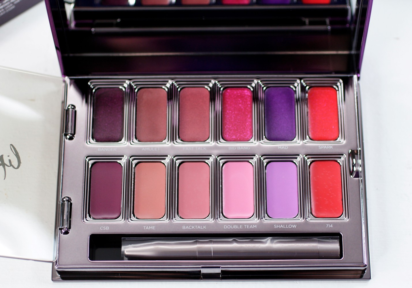Urban Decay Heavy Metal Holiday Vice Metal Meets Matte Lipstick Palette Giveaway