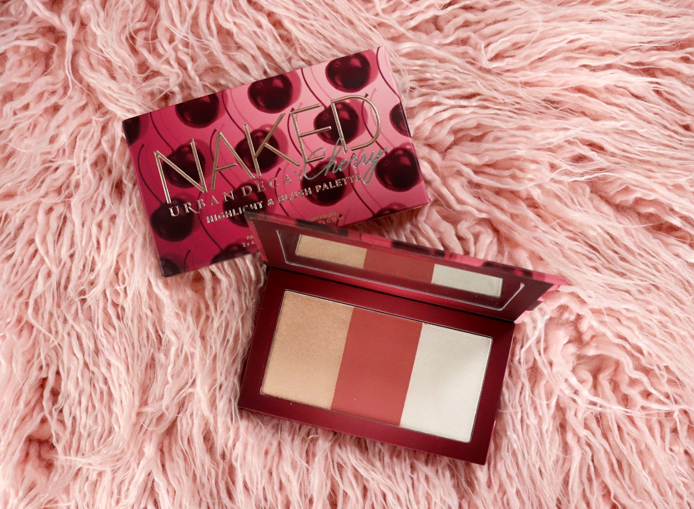 Urban Decay Naked Cherry Highlight Palette
