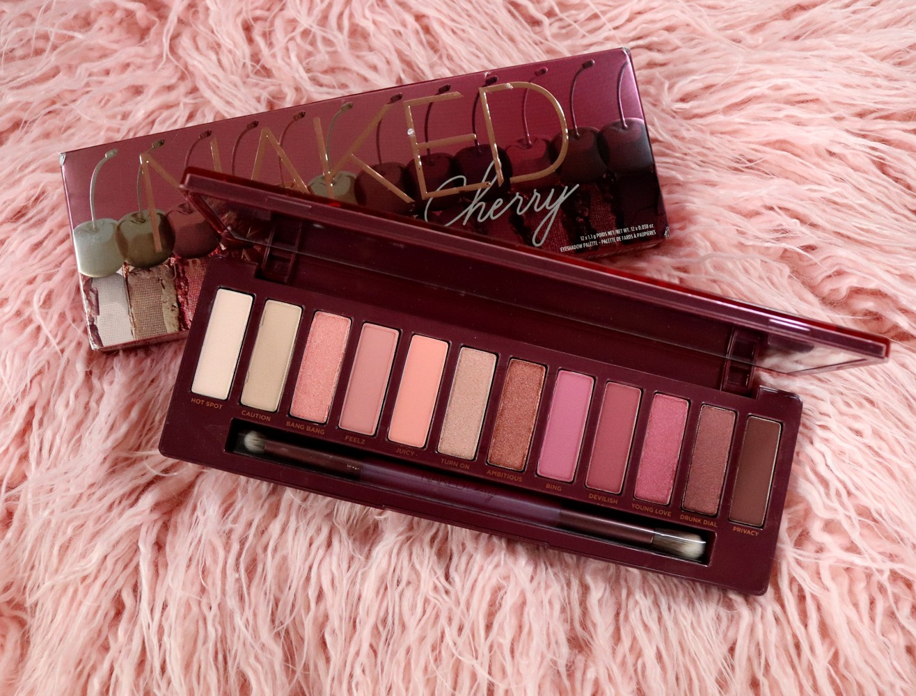 Cruelty Free Gift Guide - Urban Decay Naked Cherry Palette