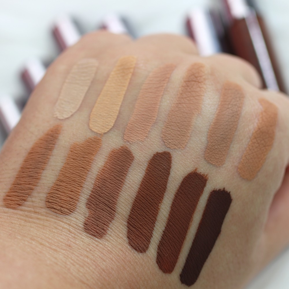 Urban Decay Naked Concealer Swatches After One Hour