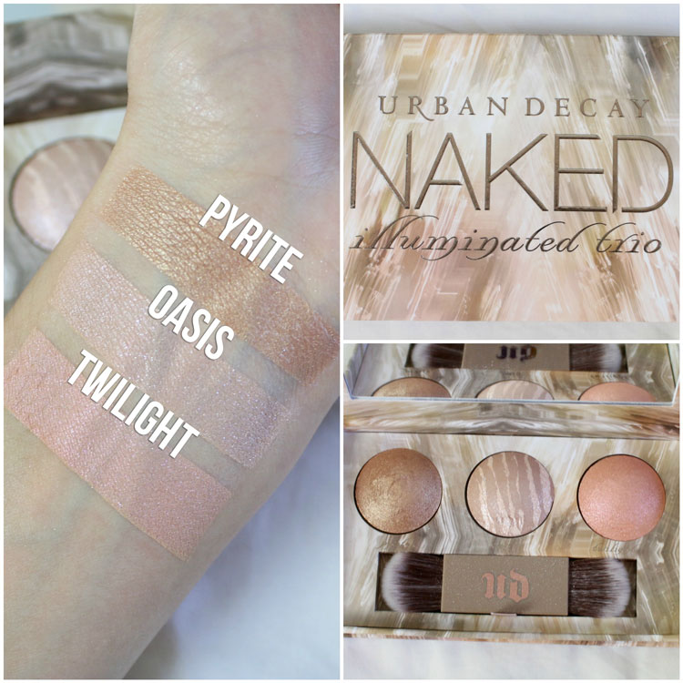urban-decay-naked-illuminated-trio-swatches-review