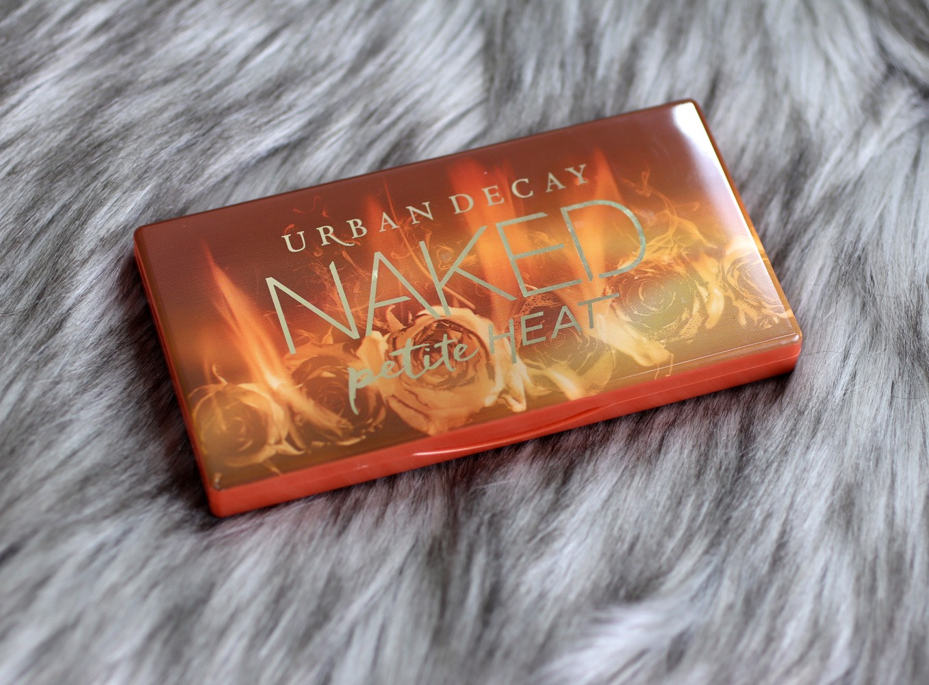 Urban Decay Naked Petite Heat Palette Review by popular Los Angeles cruelty free beauty blogger My Beauty Bunny
