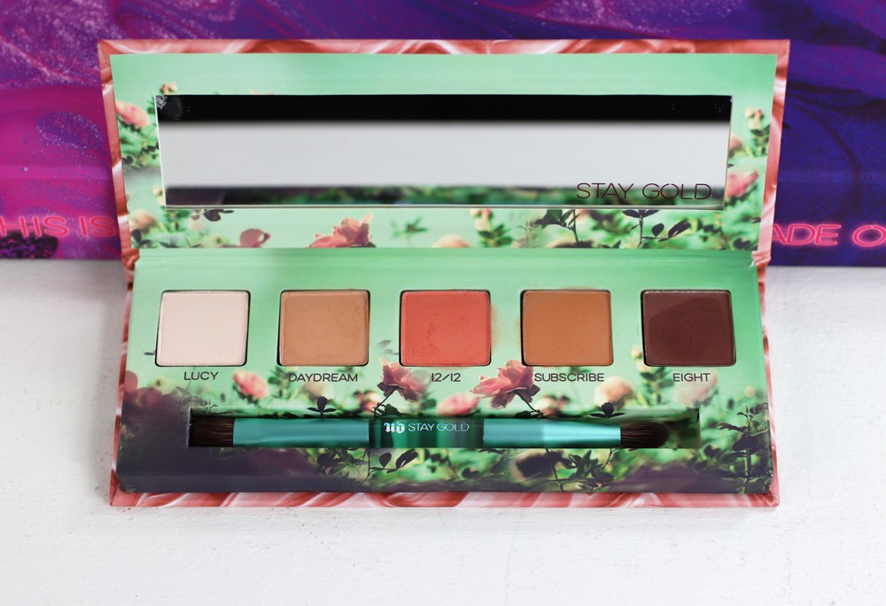 Urban Decay x Kristen Leanne Daydream Palette Review and Swatches by popular Los Angeles beauty blogger My Beauty Bunny