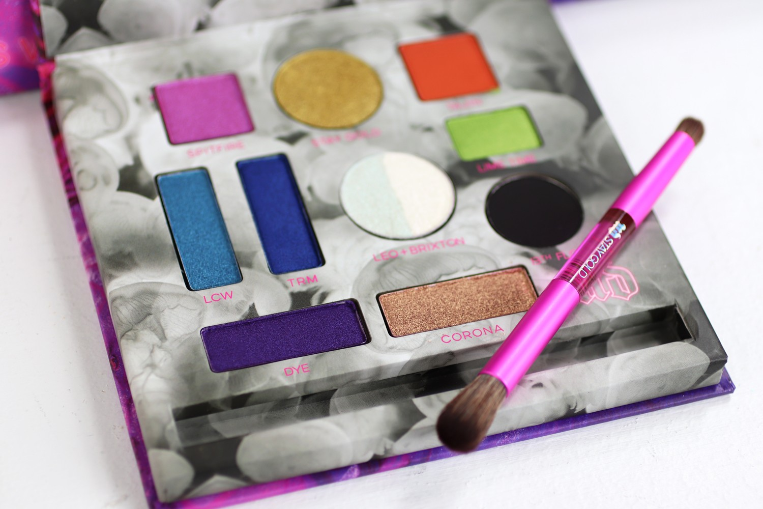 Urban Decay x Kristen Leanne Kaleidoscope Dream Palette Review and Swatches