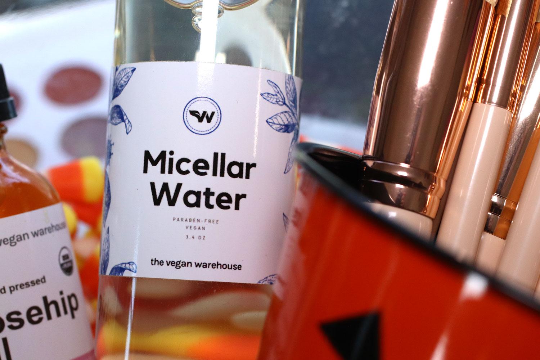 Giveaway - Vegan micellar water from The Vegan Warehouse