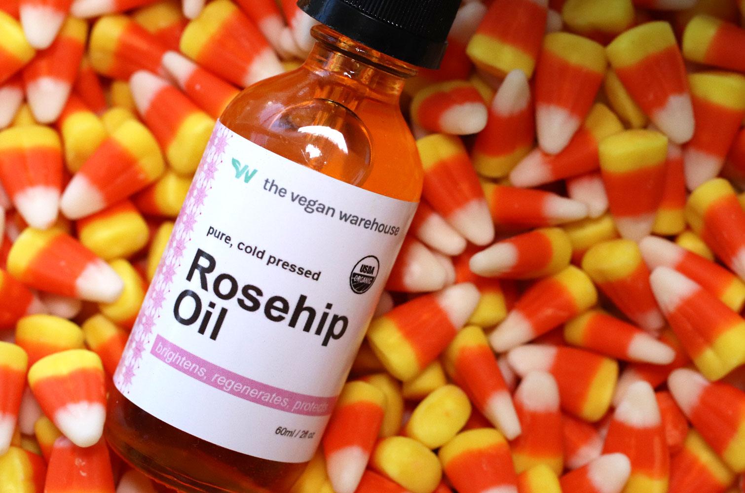Giveaway - Vegan organic rosehip oil from The Vegan Warehouse