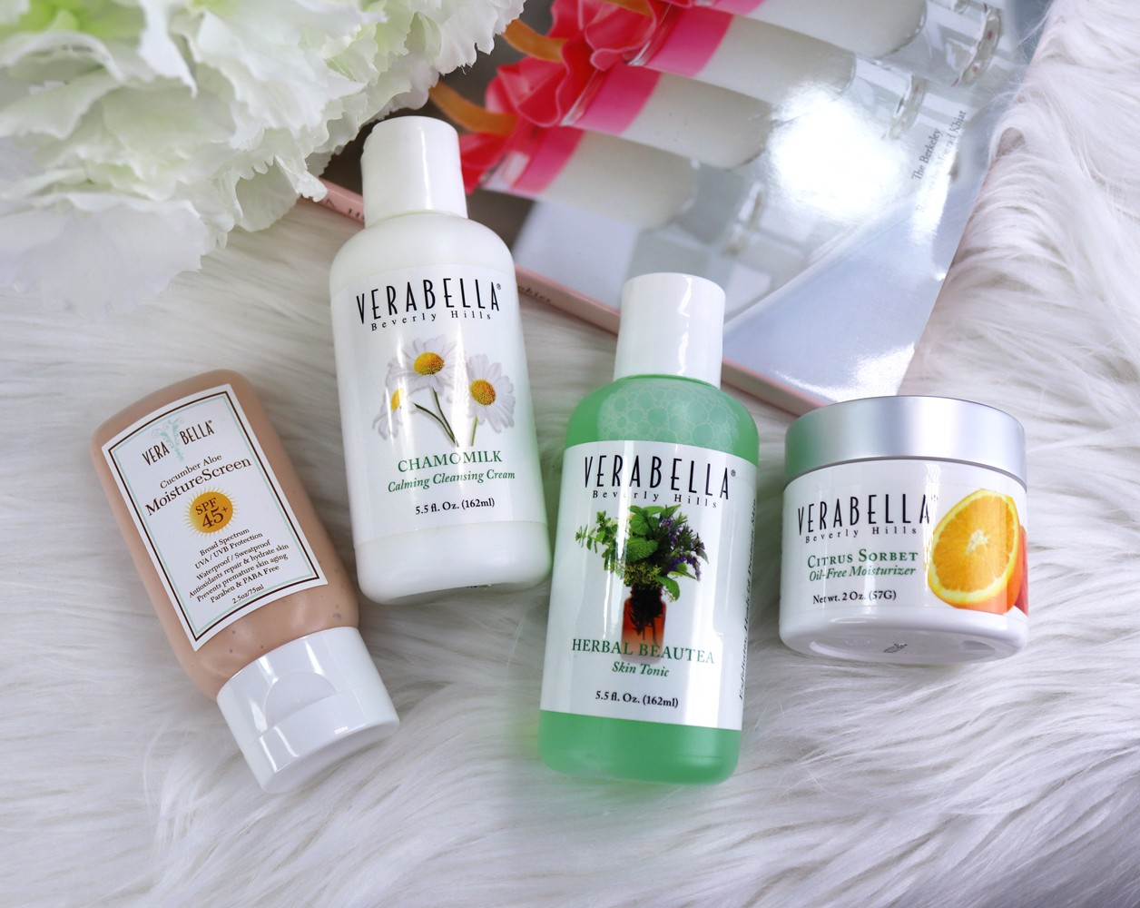 Verabella vegan and cruelty free skincare and Amazon gift card giveaway