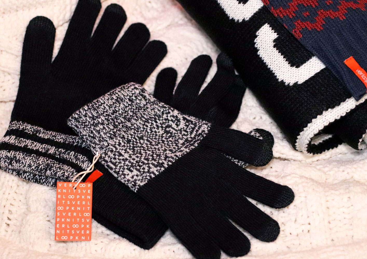 Woman Owned Holiday Gift Guide 2019 - Verloop Winter Gloves - Pack of Three