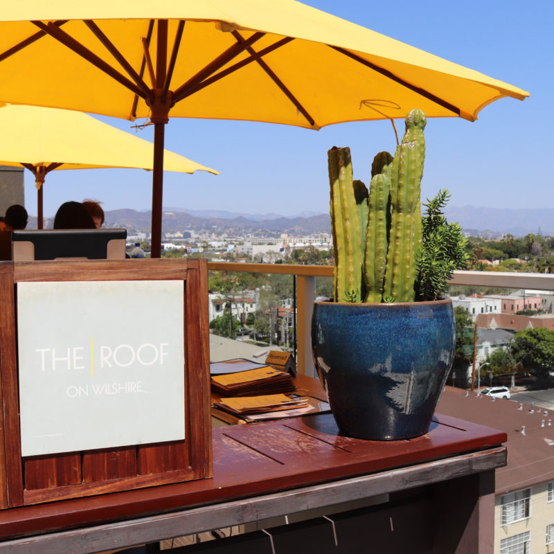 Best Rooftop Bars in Los Angeles - The Roof on Wilshire - Best rooftop bars in Los Angeles by travel blogger My Beauty Bunny