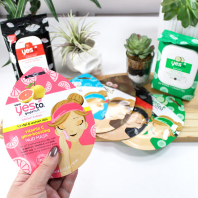 Perfect for Travel: Yes To Carrots Cruelty Free Mud Masks