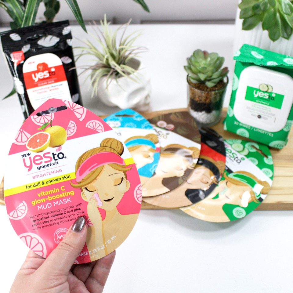 Yes to Carrots Cruelty Free Single Serving Mud Masks