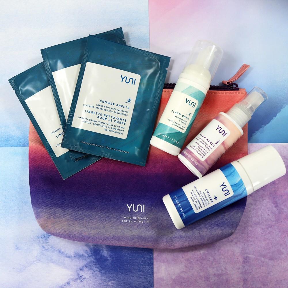 Yuni Beauty Sweat Refresh Go Travel Kit