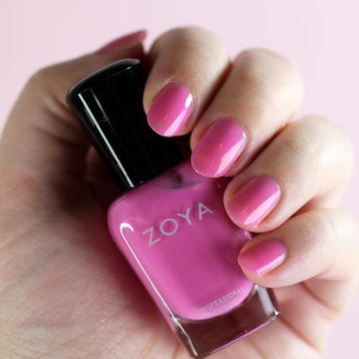 Zoya Nail Polish Review: Kisses Pastel Jellies Collection