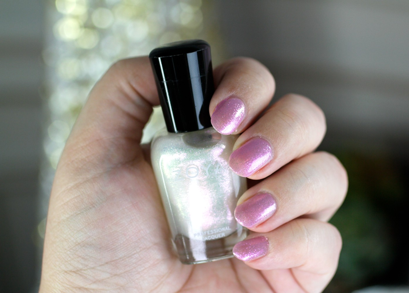 Zoya Pastel Lavender Jelly Polish - Libby Topped with Leia - Zoya Nail Polish Review: Kisses Pastel Jellies Collection by LA cruelty free beauty blogger My Beauty Bunny