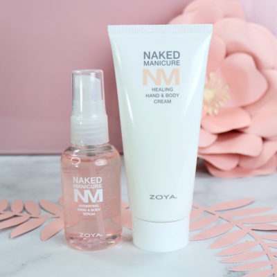 Zoya Naked Manicure Hand Serum and Hand Cream