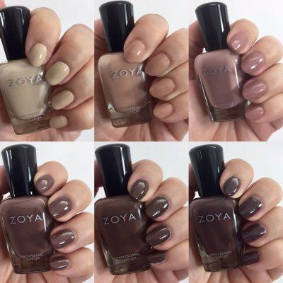 Zoya Naturel Nail Polish Collection