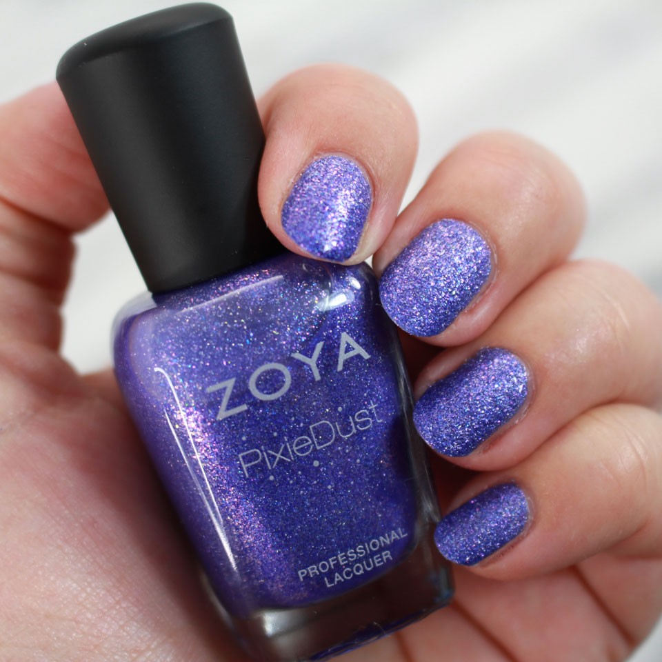 Zoya Pixie Dust Alice Swatch