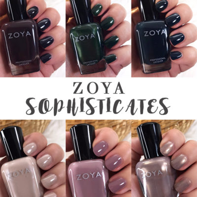 Zoya Sophisticates Collection Review and Swatches
