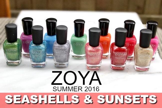 Zoya seashells and sunsets