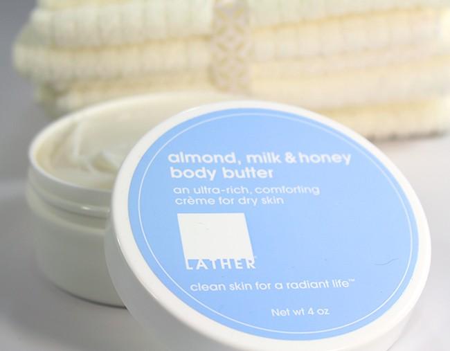 almond milk honey body butter