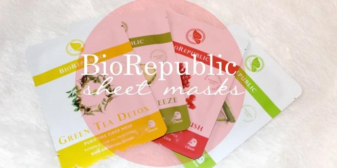 biorepublic sheet mask tutorial and review