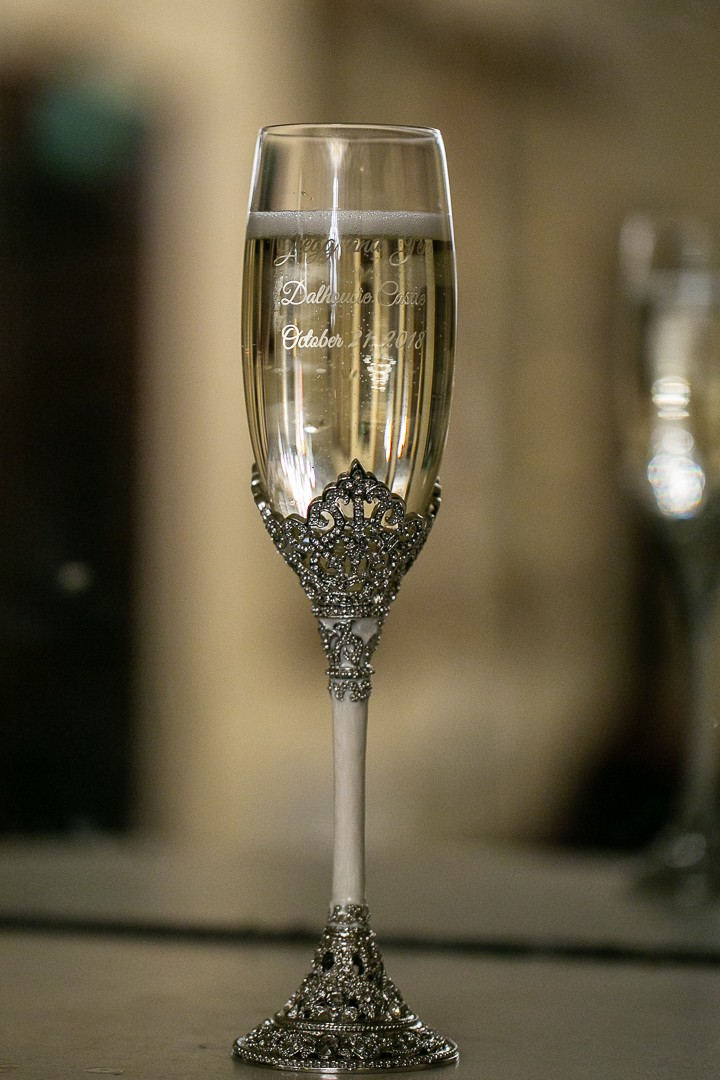 Fifth Avenue Engraved Wedding Toasting Flutes from Things Remembered