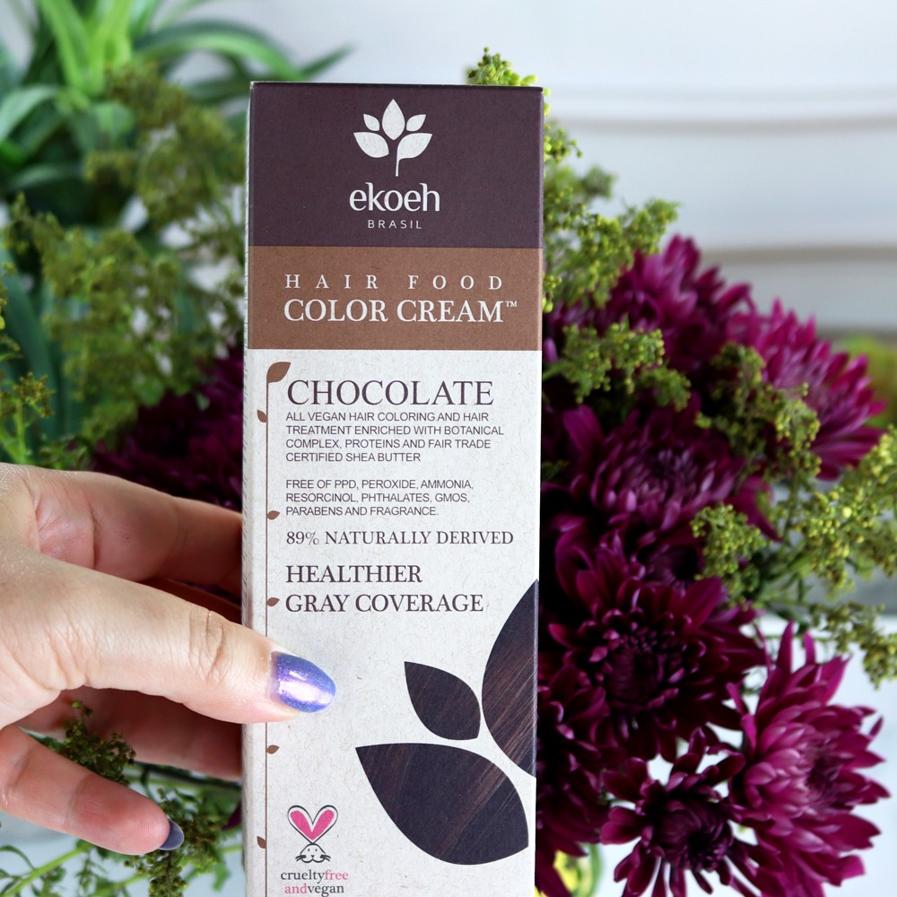Ekoeh cruelty free vegan ammonia-free hair dye - I Found a Nontoxic and Great Cruelty Free Hair Dye featured by popular Los Angeles cruelty free beauty blogger, My Beauty Bunny