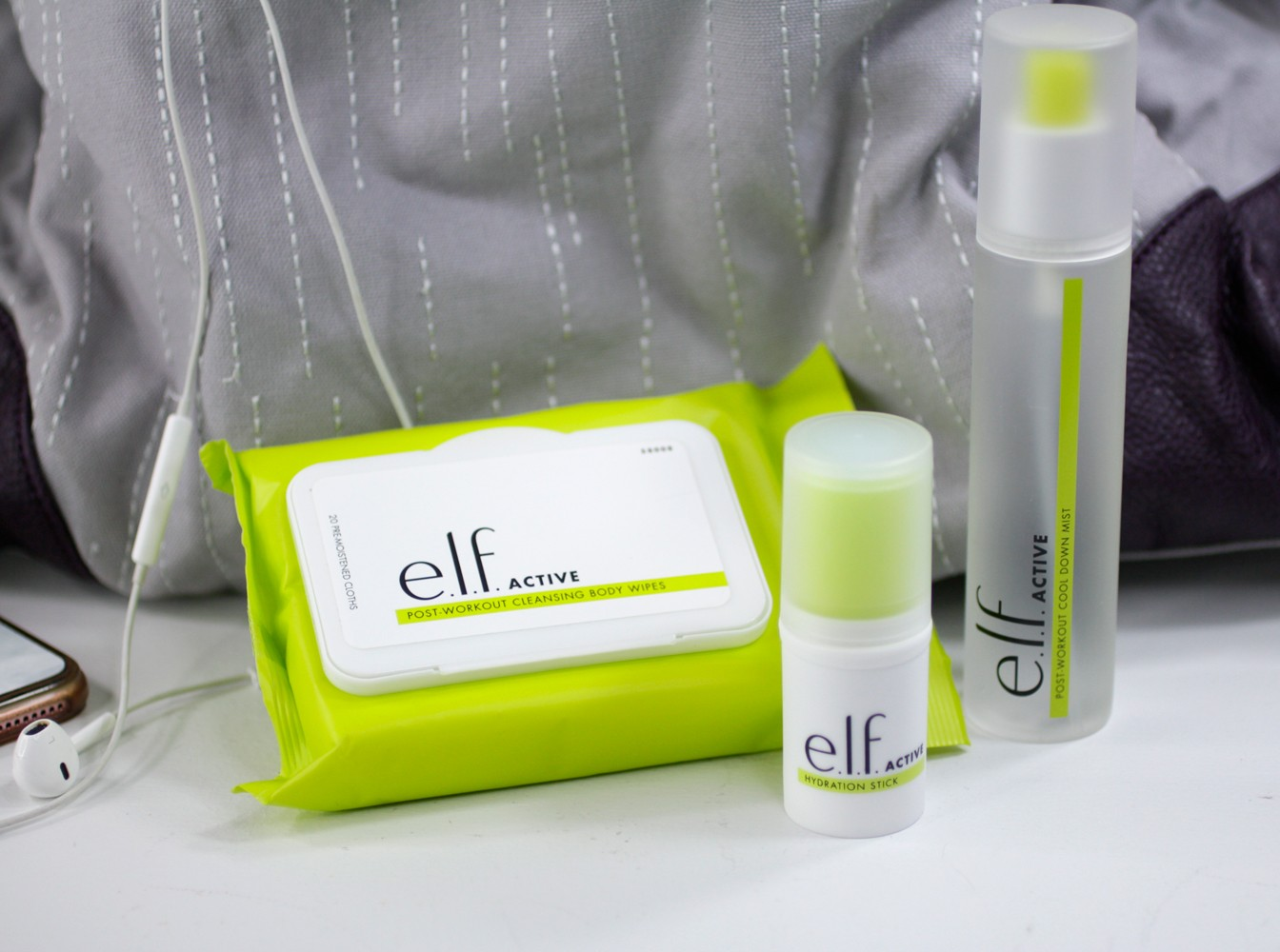 Elf Active Skincare for the Gym