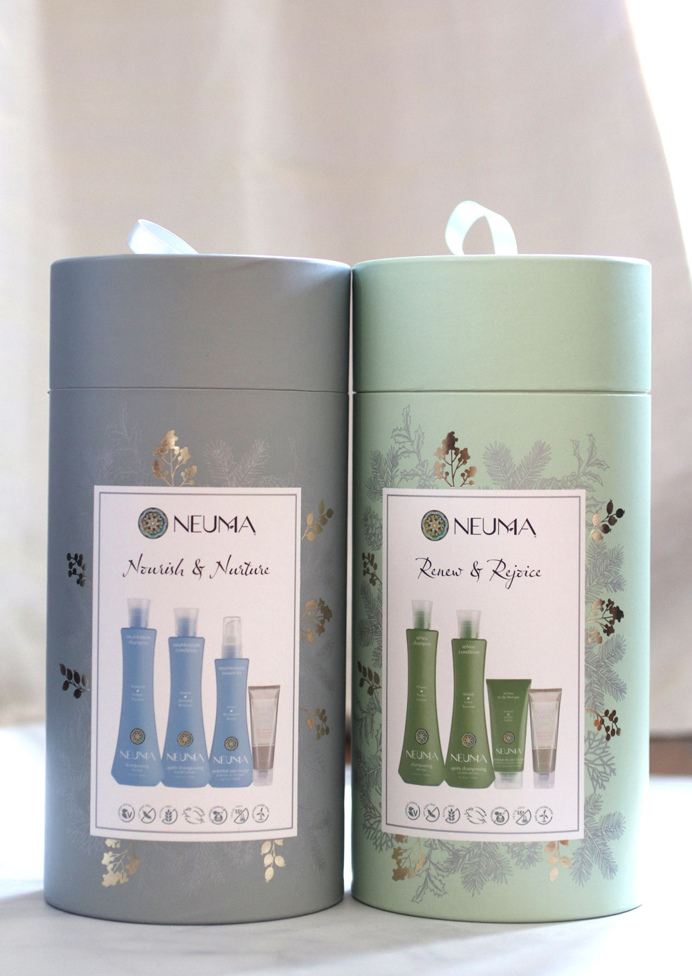 Cruelty Free Holiday Gift Guide 2020 - NEUMA vegan hair products gift sets
