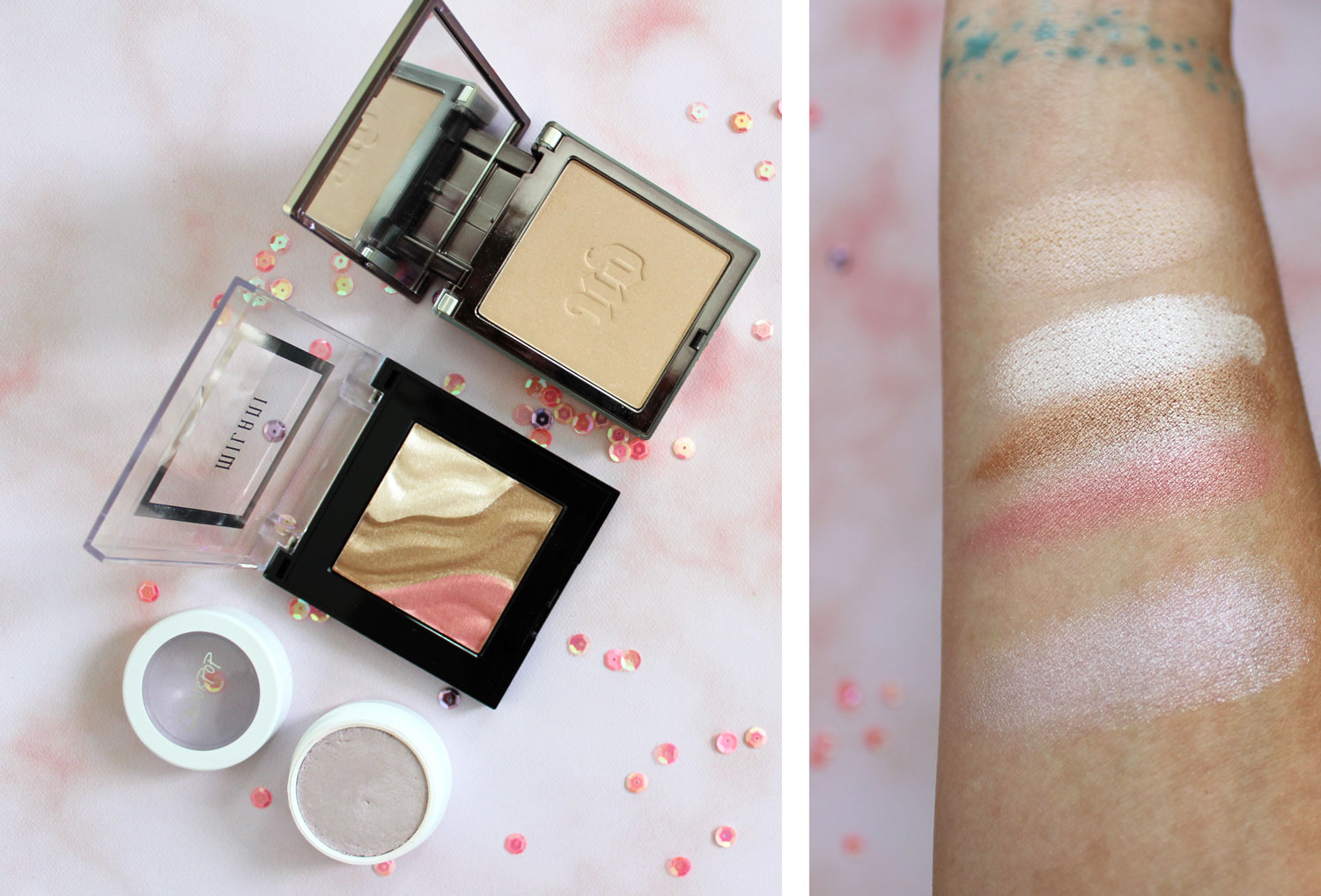 Cruelty Free Highlighters and Illuminators review by my beauty bunny