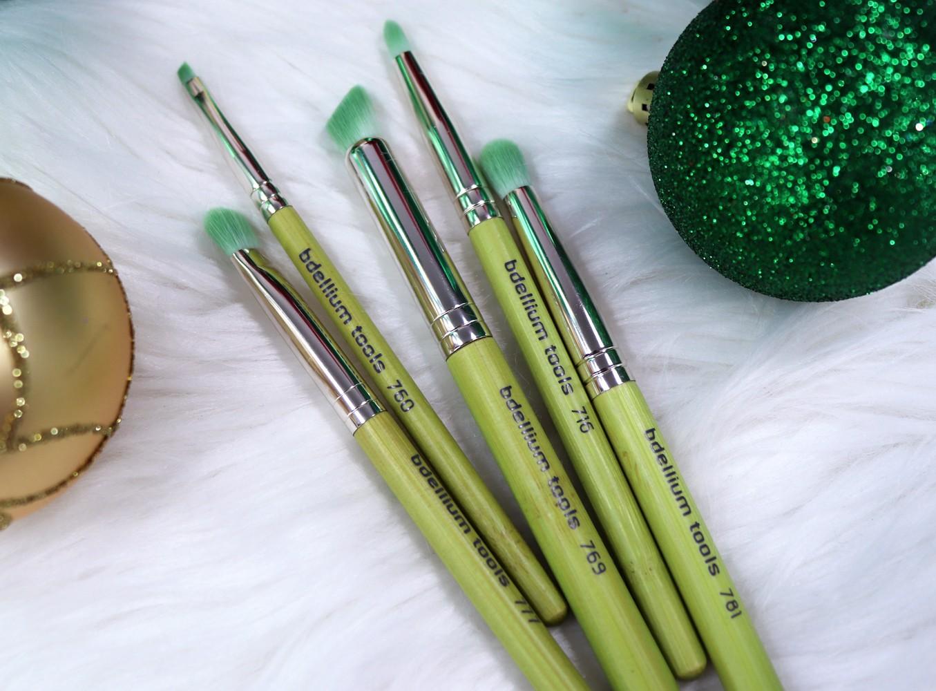 iHerb Holiday Gift Guide - Bdellium Tools Vegan Makeup Brush Set