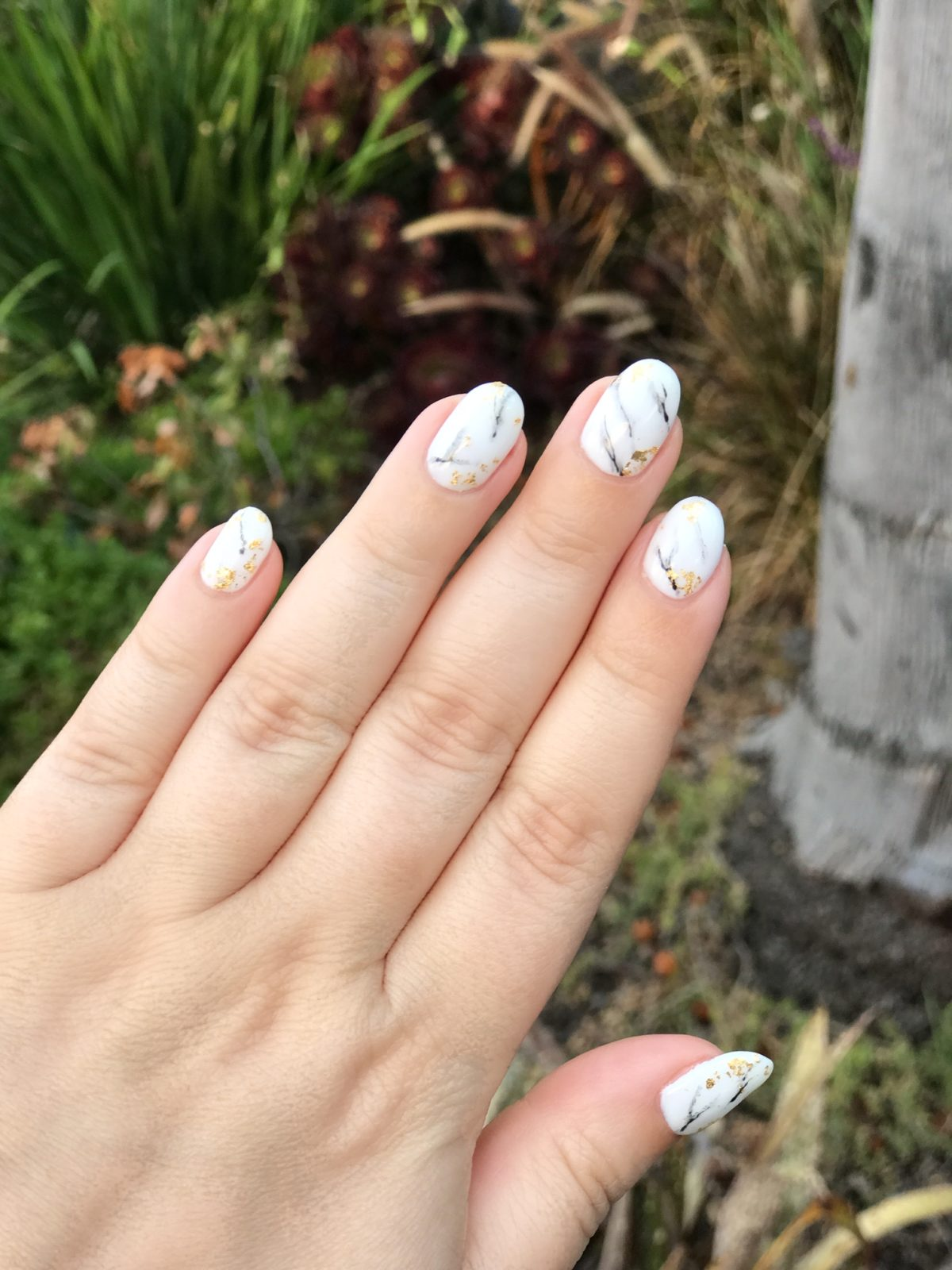 Marble Nail Art by Color Camp Los Angeles