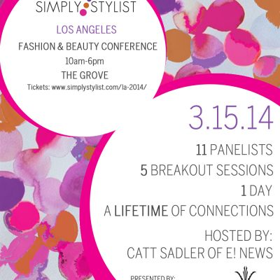 See You There! Simply Stylist Los Angeles at The Grove