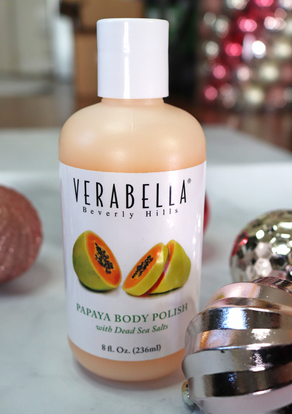 Cruelty Free Holiday Gift Guide 2020 - Verabella Papaya Body Polish