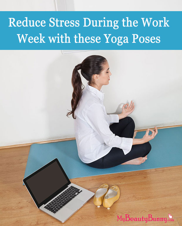 reduce stress with yoga poses