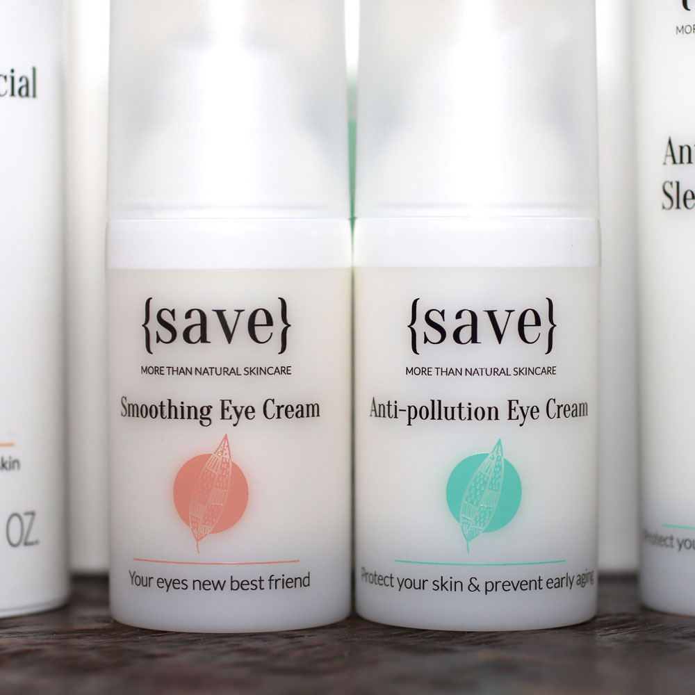 {save} skincare cruelty free eye cream