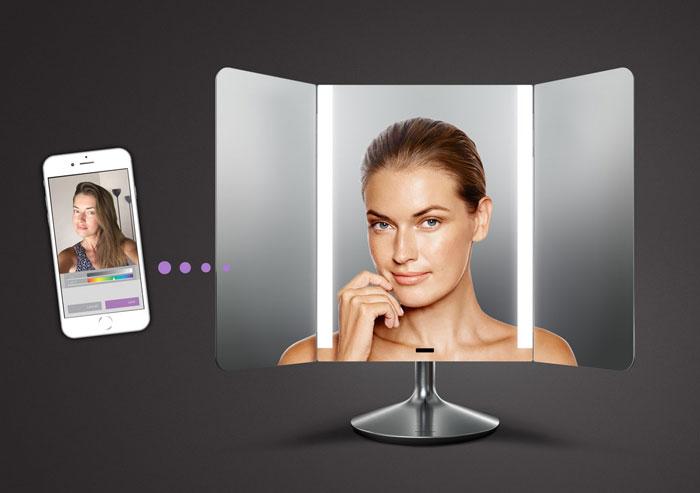 simplehuman app enabled mirror