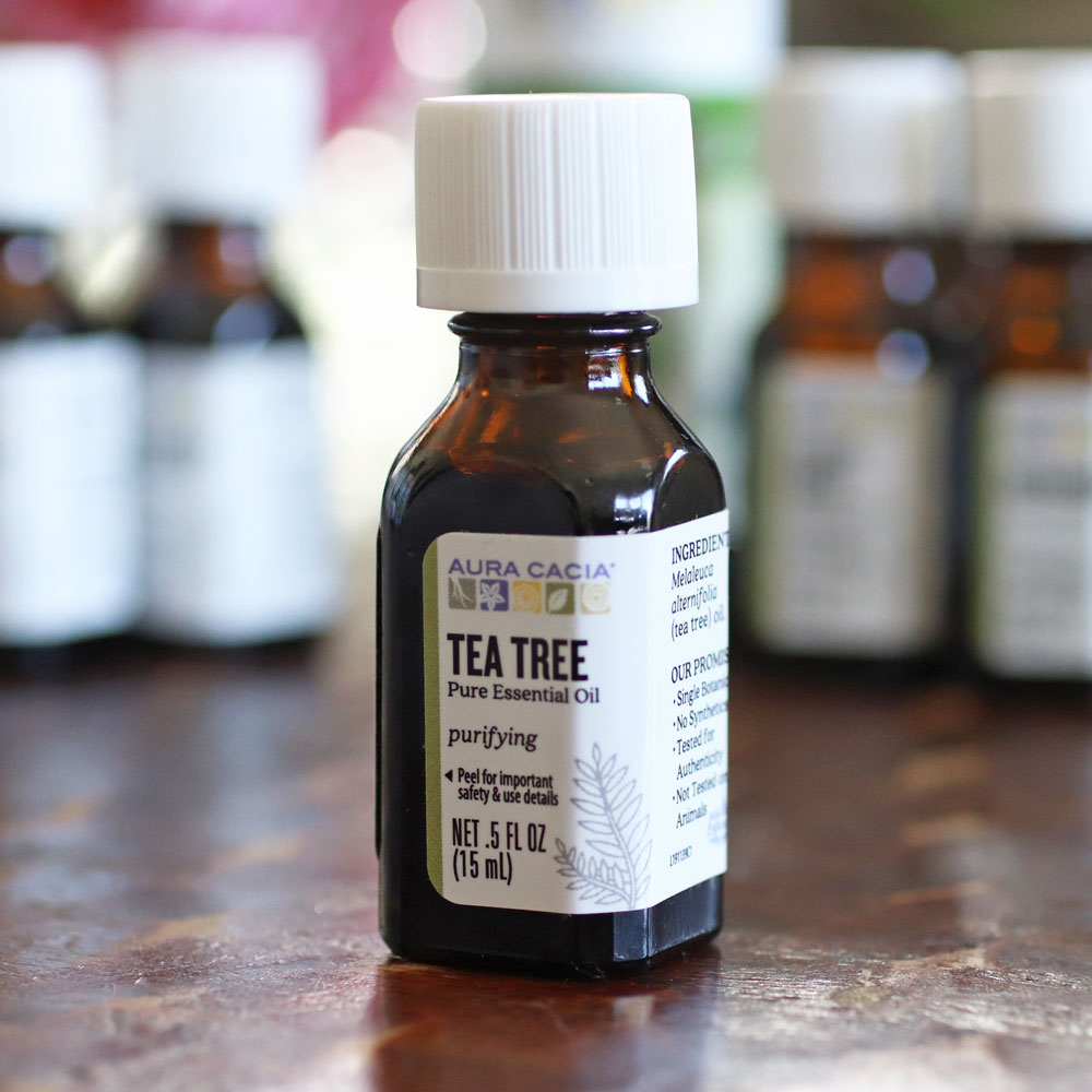 Tea tree oil DIY recipes for acne
