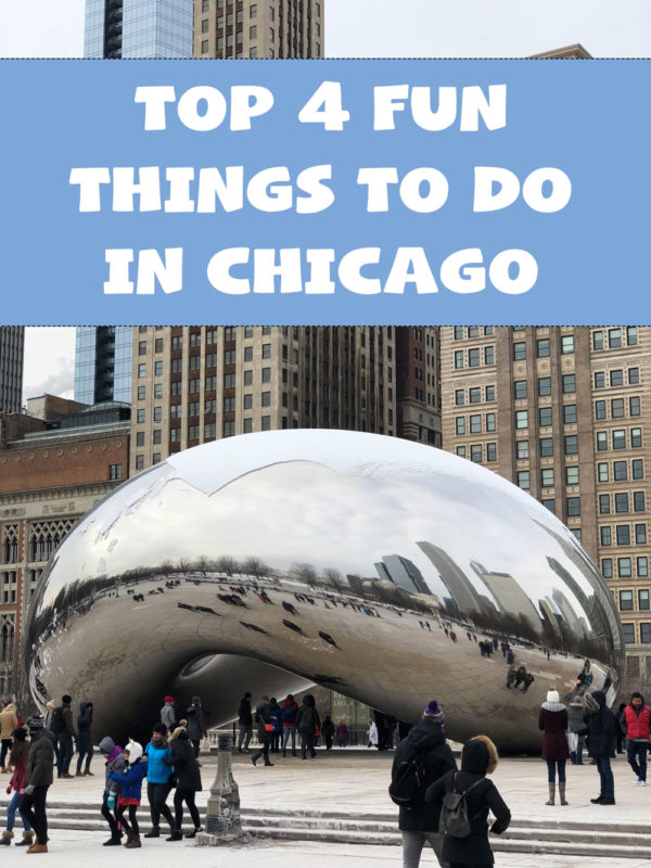 Top 4 Fun Things to do in Chicago by popular travel blogger My Beauty Bunny