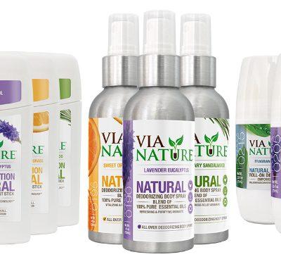 Via Nature Natural Deodorant