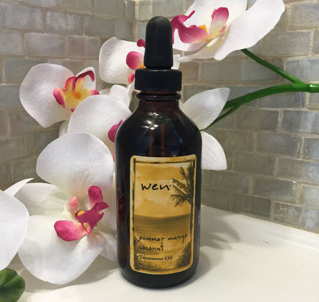 wen summer mango coconut treatment oil review by my beauty bunny